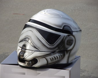 Storm Trooper Custom Painted Helmet