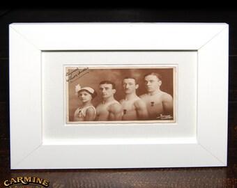 Authentic Original German Circus Photograph - the Leers-Arvello Troupe