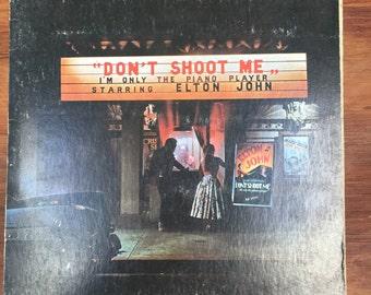 Elton John, Don't Shoot Me I'm Only the Piano Player