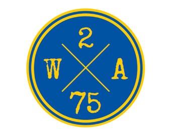 2/75 sticker