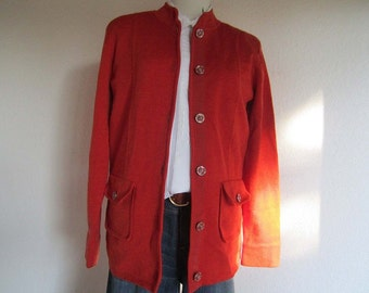 Vintage Walbusch Wool Cardigan Sweater wool S