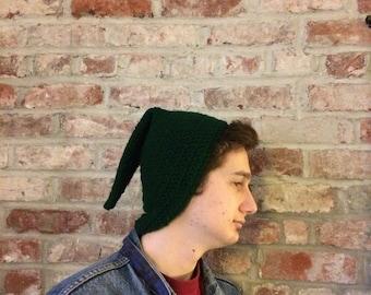 Crochet Pointy Elf Hat