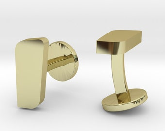 Rectangle Cufflinks | Wedding Geek & Gaming Cuff links | Available as Sets