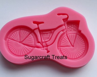 Bike Bicycle Silicone Mould