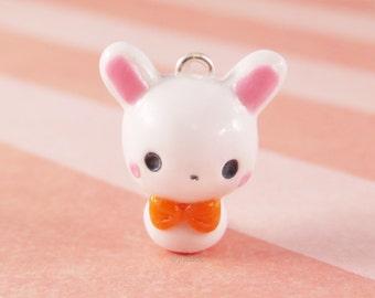 Bunny - Polymer Clay Charm
