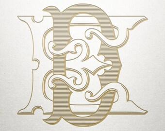 Premade Logo Monogram - DE ED - Premade Logo - Digital