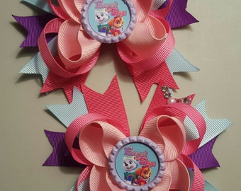 Skye and Everest Girls hair Bows.  Set of 2