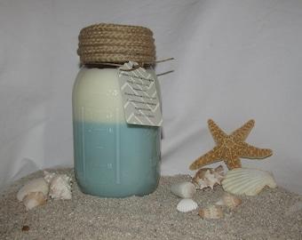 24 ounce Mason Jar Candle, Customizable