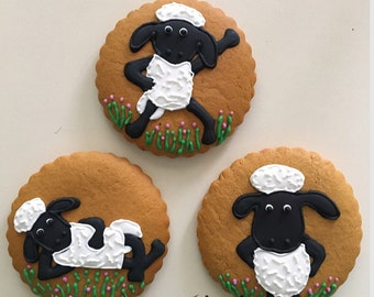 Cookies Shaun the sheep.