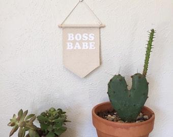 Boss Babe Wall Hanging