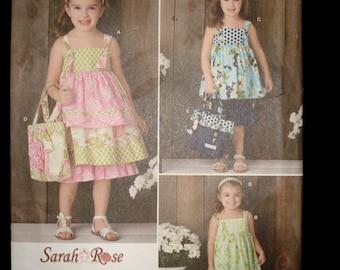 Sewing Pattern Child dress and pantaloons