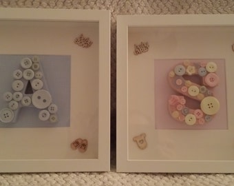 Personalised Letter Box Frames