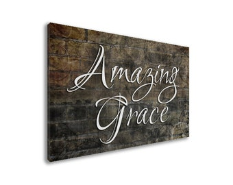 Amazing Grace Wall Art amazing grace art | etsy