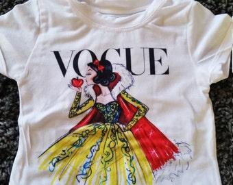 Disney Snow white girls t-shirt