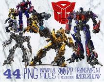 Transformer Clipart   /PNG /transparent/ 300dpi /party/printable