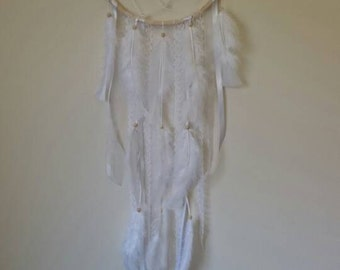 Dream catcher with crystal