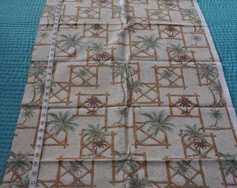 Palm Tree Fabric 1-1/2 yards