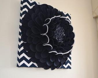 3D Felt Wall Flower
