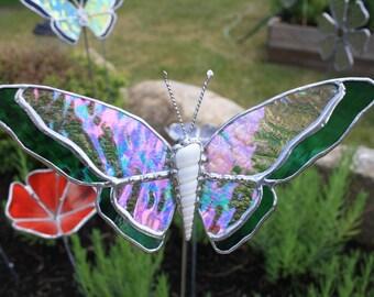 Garden Art - Glass Butterfly