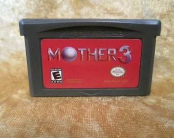 Mother 3 - (English) Nintendo Game Boy Advance GBA Gameboy USA EarthBound 2
