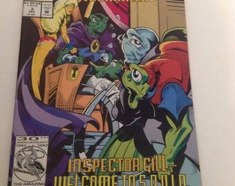 Marvel Comics The Fish Police Issue #3 1992