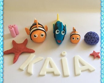 Finding Dory / Nemo cake toppers