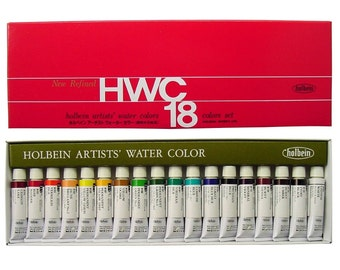 Holbein Artists' Watercolors  5ml Tube 18 Color Set