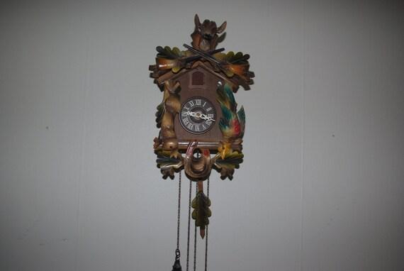 Multi Color Cuckoo Clock