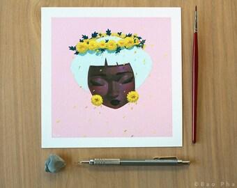 Chrysanthemum Tears - Limited Edition Print
