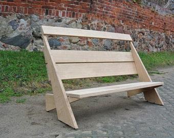 Garden Bench / wooden bench
