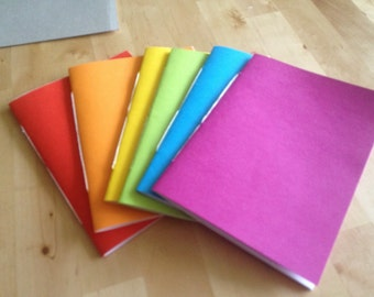Rainbow 5x7 Notebook Set (120 pages)