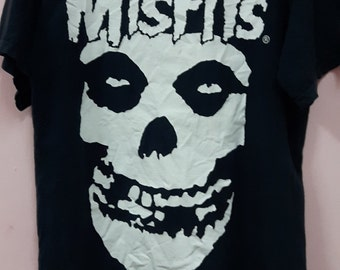 Vintage Misfits skull shirt