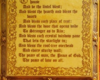 House Blessing. From the shrine of the immaculate conception Washington D.C. Feb 10th 1937