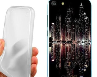 Case cover night city to wiko fever lte