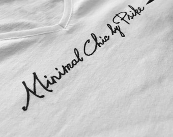 "T-shirt ""Minimal Chic"""