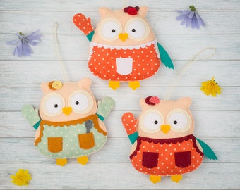 Kitchen decor Gift for women Cute owls Mothers day gift Home decorations Gift for mother Valentines gift Owl ornaments Kitchen decorations