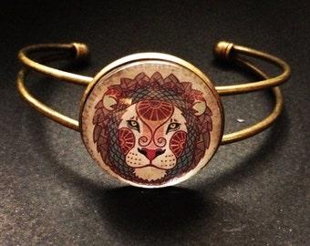 Bracelet Lion zodiac sign