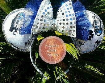 Star Wars inspired mouse ears