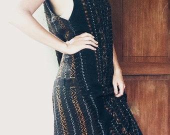 Vintage Ikat Dress