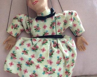 SALE!!! HAZZELLE marionette VINTAGE 1950s