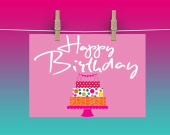 Happy Birthday\\Cake\\Digital File