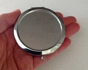 Blank Compact Mirror - Seconds - DIY