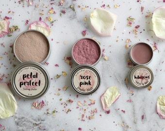 Pretty Pink Gift Set - Organic Makeup - Organic Cosmetics - Vegan Makeup - Cosmetic Gift Set