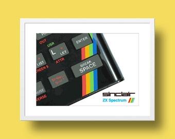 Sinclair ZX Spectrum Poster Print