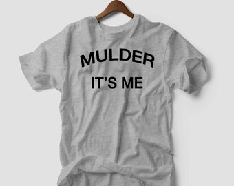 Tshirt The Truth Is Out There Mulder And Scully T-Shirt New Authentic dope tumblr nerd