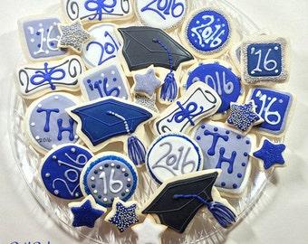 Graduation, College, High School Cookies