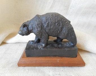 J.H. Clarke - Bronze Bear