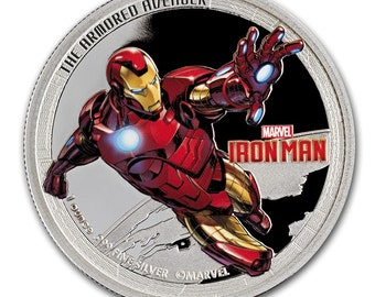 The Ironman Avenger Coin Silver Plated