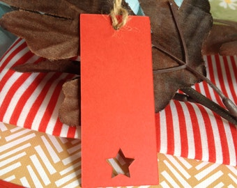 CHRISTMAS PAPER TAGS, Shaped Christmas Tags, paper Tags, Handmade paper tags, gift tags, Christmas tags,