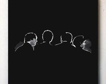 The Beatles Canvas No.2